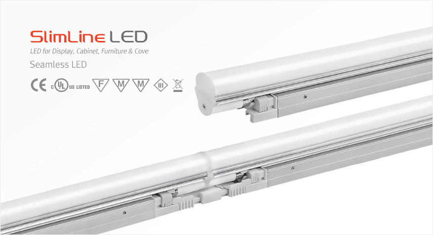 Popular An evolutionary alternative to our world renowned SEamless T5 fluorescent fixture Feelux introduces the SlimLamp Seamless LED Utilizing the same body and - Contemporary t5 fluorescent light fixtures Contemporary